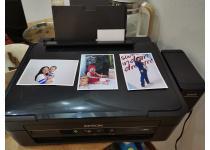 爱普生喷墨彩色打印复印扫描一体机