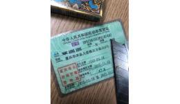 九濱路廣場撿到一個駕駛證誰認識她?